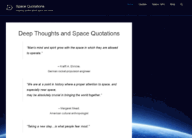 spacequotations.com