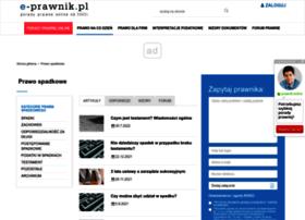 spadek.e-prawnik.pl