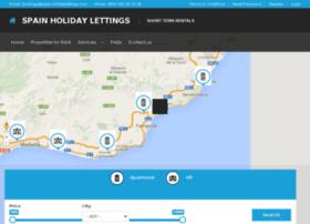 spain-holidaylettings.com