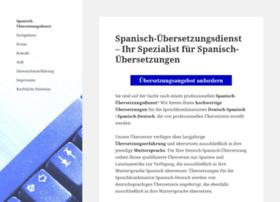 spanisch-uebersetzungsdienst.de