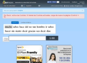 spanish-speedtest.10-fast-fingers.com