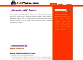 spanish.abcthesaurus.com