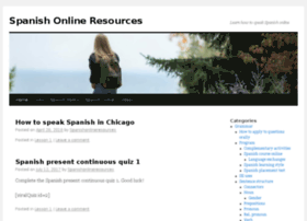 spanishonlineresources.com