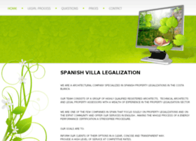 spanishvillalegalization.com