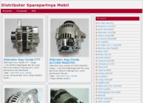 sparepartnyamobil.com