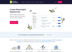 sparkexperiencedesign.optimalworkshop.com