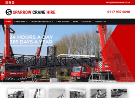 sparrowcrane.co.uk