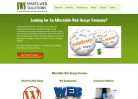 spartawebsolutions.com