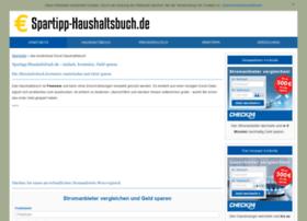 spartipp-haushaltsbuch.de