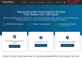 speak-write.com