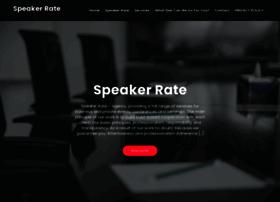 speakerrate.com