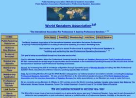 speakersassociation.org