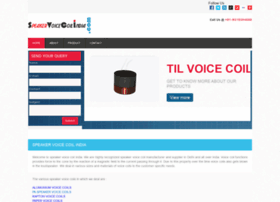 speakervoicecoilindia.com