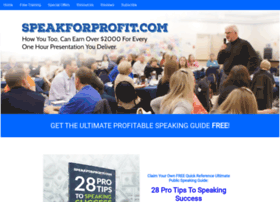 speakforprofit.com