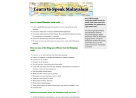 speakmalayalam.com