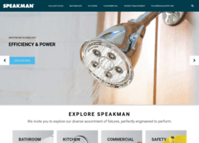 speakmanshowers.com