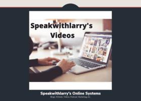 speakwithlarry.com
