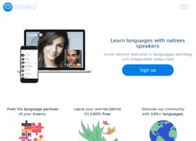 speaky-dev.herokuapp.com