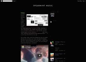 spearmintmusic.blogspot.com