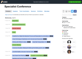 specialistconference2015.sched.org