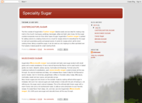 specialitysugar.blogspot.in
