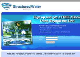 specials.structuredwaterunit.com