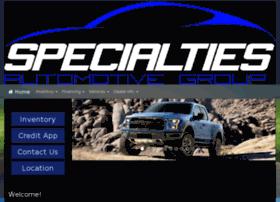specialtiesauto.com