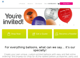 specialtyballoons.emarksolutions.com.au