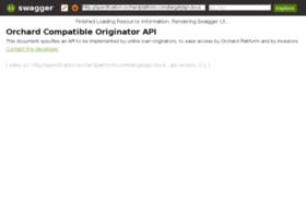 specification.orchardplatform.com
