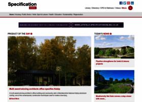 specificationonline.co.uk