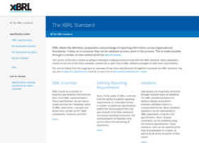 specifications.xbrl.org