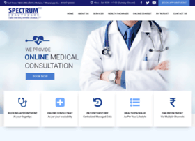 spectrumhealthcare.co.in