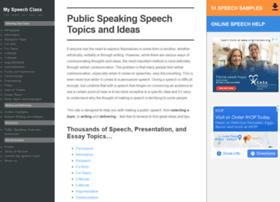 Speech-topics-help.com