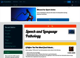 speechpathology.livejournal.com