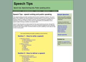 speechtips.com