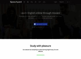 speechyard.com