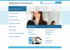 speed-returns-indonesia.com