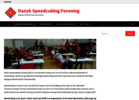 speedcubing.dk
