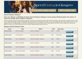 speeddatinginglasgow.com
