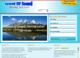 speedofsoundmoving.com