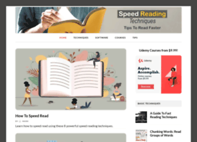 speedreadingtechniques.org