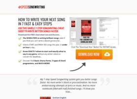speedsongwriting.com