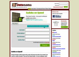 speedsudoku.com