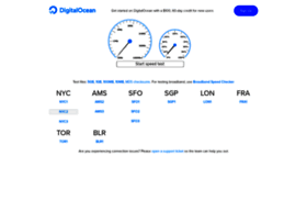 speedtest-nyc2.digitalocean.com
