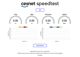 speedtest.cesnet.cz