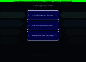 speeduptech.com