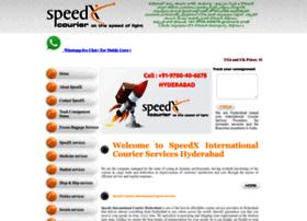 speedxcourier.com