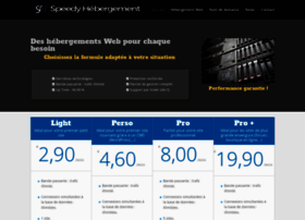 speedy-hebergement.com