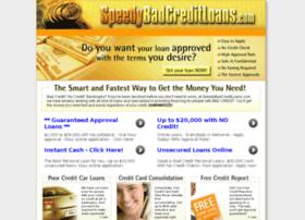 speedybadcreditloans.com