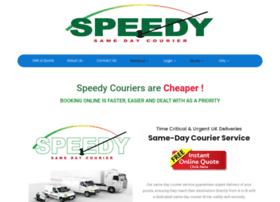 speedysamedaycourier.com